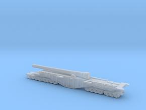 BL 14-inch Railway Gun 1/200 Boche Buster in Smooth Fine Detail Plastic