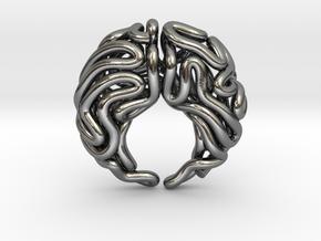 Kohala Pendant in Polished Silver