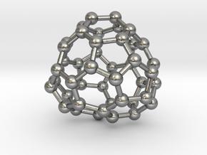 0705 Fullerene c44-77 c1 in Natural Silver