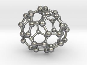 0706 Fullerene c44-78 c1 in Natural Silver