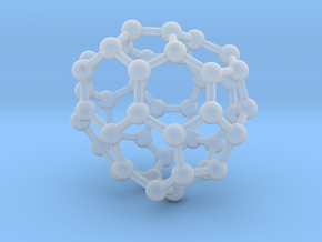 0707 Fullerene c44-79 c1 in Smooth Fine Detail Plastic