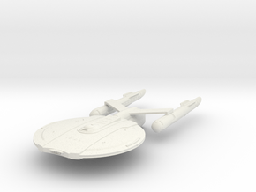 "Discovery time line USS Yorktown 4.8"" in White Natural Versatile Plastic"