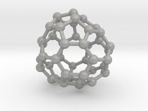 0708 Fullerene c44-80 d3 in Aluminum