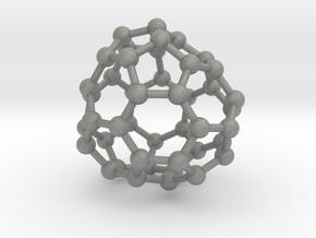 0708 Fullerene c44-80 d3 in Gray Professional Plastic