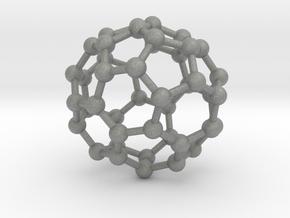 0709 Fullerene c44-81 c1     in Gray Professional Plastic