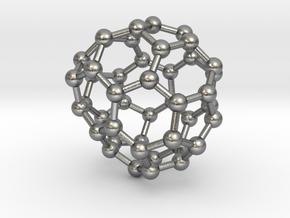 0713 Fullerene c44-85 d2 in Natural Silver