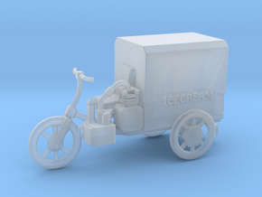 S Scale Icecream Mobile in Smooth Fine Detail Plastic