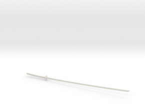 1/3rd Scale Ichigos' Bankai Sword From Bleach in White Natural Versatile Plastic