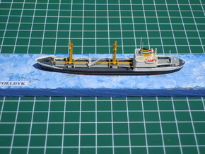 1:1250 model Poeldyk HAL  in Smooth Fine Detail Plastic