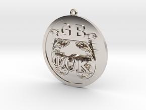 PhiThetaKappa Ornament in Platinum