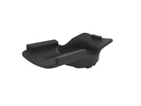 Garmin GPS eTrex to Edge mount converter in Black Natural Versatile Plastic