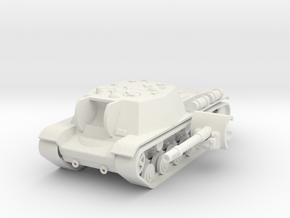 1/100 SU-152 in White Natural Versatile Plastic