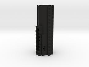 Ares Amoeba AM 00(1-6) Quad Picatinny Fore Grip in Black Natural Versatile Plastic