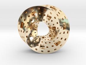 Menger Mobius  in 14K Yellow Gold