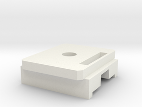 Odin-M12-M4-unloader in White Natural Versatile Plastic