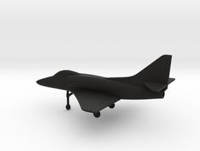Douglas A-4E Skyhawk in Black Natural Versatile Plastic: 1:160 - N