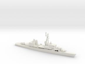 1/700 Scale Sumner Class FRAM 2 6 Gun in White Natural Versatile Plastic