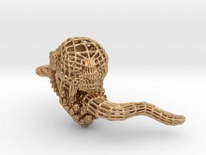 Dota2 Lifestealer Geometrical Skullring in Natural Bronze