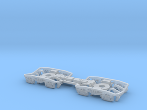 Bogie Y25 in Smooth Fine Detail Plastic