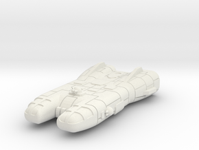 Traveller Far Trader 1:1000 Scale in White Natural Versatile Plastic