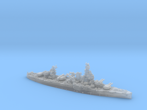 USN BB35 Texas[1944] in Smooth Fine Detail Plastic: 1:1800