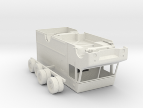 S Scale UPS Truck in White Natural Versatile Plastic