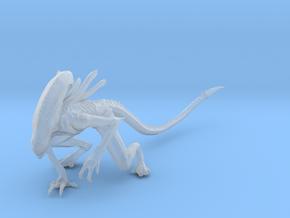 Xenomorpf 7 in Smooth Fine Detail Plastic: 15mm