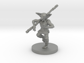 Goblin Monk - Small Humanoid in Gray PA12