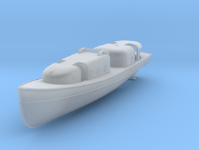 1/96 USN Admirals Boat in Smooth Fine Detail Plastic