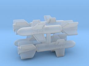 (1:144)(x4) Funryu 2 in Smooth Fine Detail Plastic