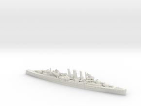 HMAS Canberra [1942] in White Natural Versatile Plastic: 1:1200