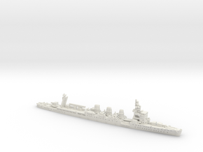 IJN CL Nagara [1942] in White Natural Versatile Plastic: 1:1200