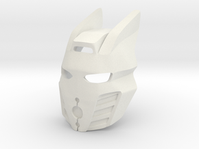 Kanohi Pakari, Killer Queen Variant in White Natural Versatile Plastic