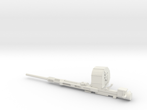 1/16 Oerlikon 20mm cannon in White Natural Versatile Plastic