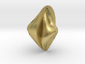 anglestone in Natural Brass