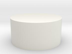 Tusken Slayer - Plug Insert in White Natural Versatile Plastic