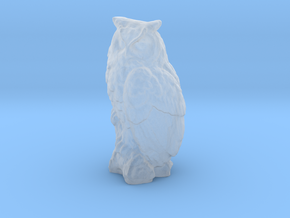 S Scale Owl in Smooth Fine Detail Plastic