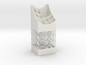 Penholder 16D in White Natural Versatile Plastic