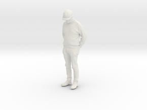 Printle C Homme 1590 - 1/24 - wob in White Natural Versatile Plastic
