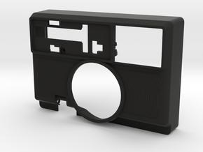 SLR680 sonar/flash housing faceplate in Black Natural Versatile Plastic