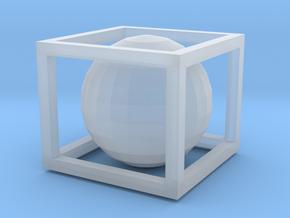 IMPOSSIBLE BOX in Smooth Fine Detail Plastic: Medium