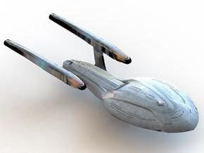 The USS Odyssey (NCC 71832) in White Strong & Flexible