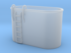 1/125 Tub for two MK51 gun control in Smooth Fine Detail Plastic