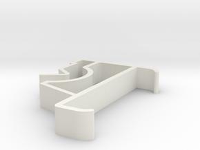 Blind Valance Clip 61 in White Premium Versatile Plastic