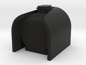 TWR P2 Smokebox in Black Natural Versatile Plastic
