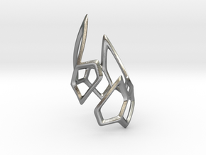 Triple Spear Point Ring in Natural Silver: 9 / 59