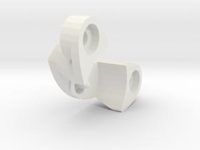 tamiya astute counter gear holder in White Natural Versatile Plastic
