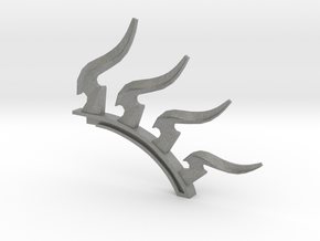 Fire Resistance spine in Gray Professional Plastic
