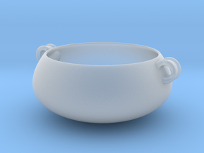 STN Bowl (Downloadable) in Smooth Fine Detail Plastic