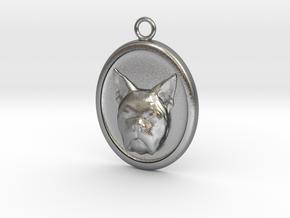 French Bulldog in Natural Silver
